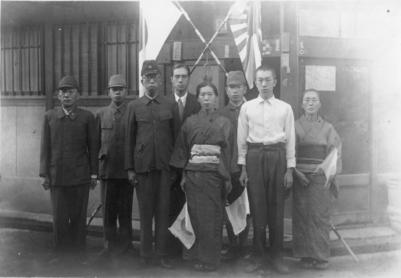 大阪市 都島区 戦後70年記念画像アーカイブ 出征