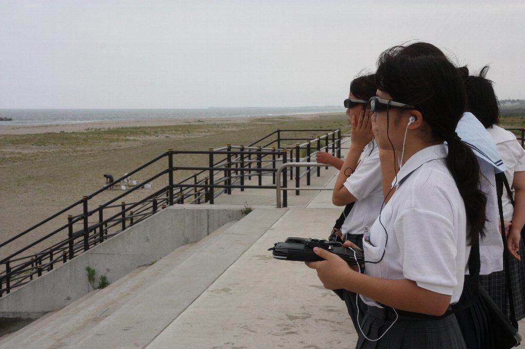 荒浜地区散策
