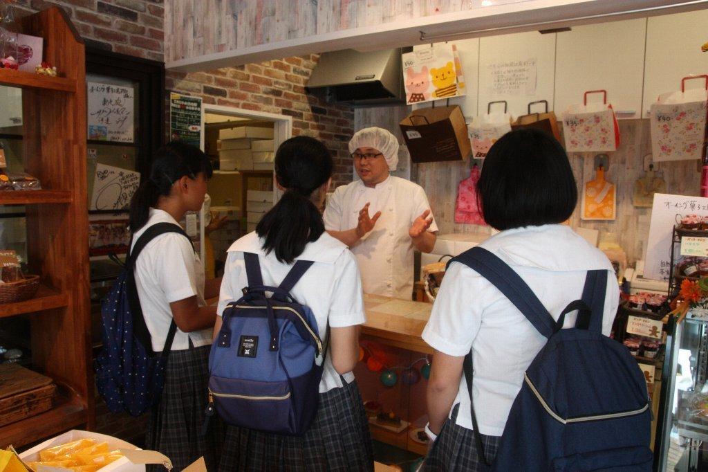 「オーイング菓子工房Ryo」でインタビュー