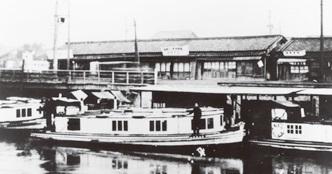 大阪市城東区:巡航船の船着き場...