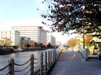 城北川遊歩道