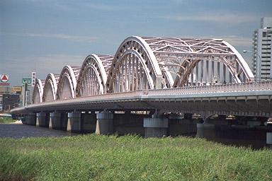 十三大橋写真