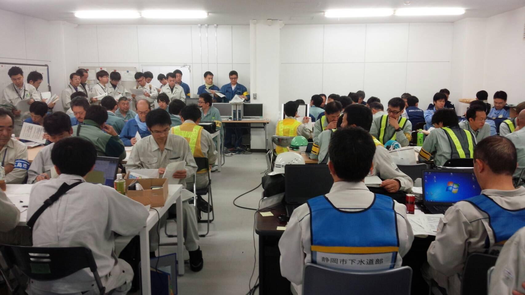熊本県熊本地方で発生した地震による下水道部門の支援活動について<建設局>