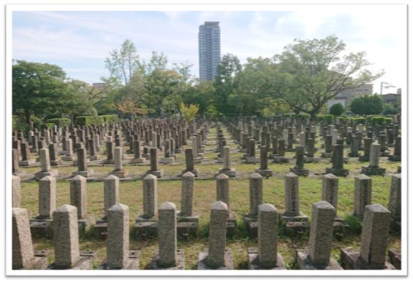 大阪市:旧真田山陸軍墓地 (…>エリア別主要施設案内 >大阪城周辺)